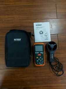 EXTECH AN200 Thermo Anemometer + Infrared Thermometer