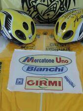 pezza in cotone Team Mercatone Uno Pantani Marco 1998 Maglia Gialla Maglia Rosa