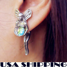 One Pair Cute Fairy Stud Earrings for girl & Women's Earrings