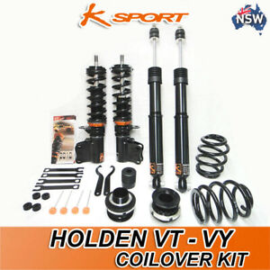 VT-VY COMMODORE KSPORT ADJUSTABLE COILOVER KIT ( F+ R )