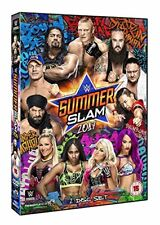 WWE Summerslam 2016 DVD