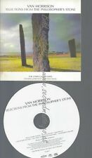 CD--PROMO--VAN MORRISON--SELECTIONS FROM THE PHILOSOPHERS STONE--6 TRACKS