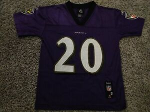 Ed Reed Baltimore Ravens Jersey Kid Small 8 Football NFL Used Youth Boy Girl AFC