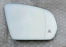 Genuine Mercedes Right Side Mirror Glass with Blind Spot Assist A0998100416