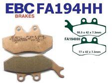 EBC GARNITURES DE FREIN fa194hh ESSIEU AVANT compatible en YAMAHA XT 125 X (3d62