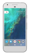 New Google Pixel 32GB Very Silver GSM Unlocked AT&T T-Mobile Straight Talk White