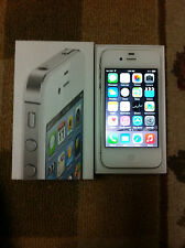APPLE - IPHONE - 4S - WHITE - 16GB - FACTORY - UNLOCKED - GOOD CONDITION