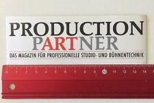 Aufkleber/Sticker:Production Partner - Magazin Studio & Bühnentechnik(090416191)