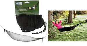 Maxam 7 foot Adult Size Camping-Traveling Portable Hammock With Mesh Carry Bag