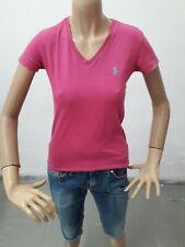 Maglia RALPH LAUREN Donna T-shirt Woman Polo Femme Taglia size XS Cotone 8543