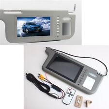 "7"" LCD Car Sun Visor Monitor Right 2 Way Video Rear View Mirror DVD/VCD/GPS/TV"