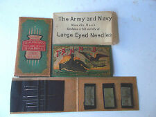 Vintage-Post WWII The Army and Navy Needle Book - Occupied Japan!