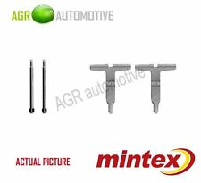 MINTEX REAR BRAKE PADS ACCESORY KIT SHIMS GENUINE OE QUALITY - MBA1217