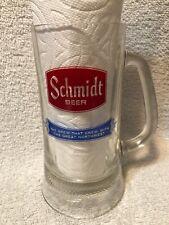 "Vintage Schmidt Beer Mug ""The Brew that Grew with the Great Northwest"" 6"""