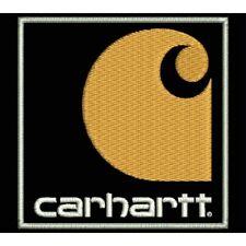 Iron Patch bestickt Patch zona ricamata parche bordado tipo CARHARTT (VERTICAL)