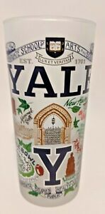 Yale University CatStudio Drinking Glass