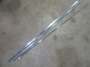 1959 Ford Galaxie Fairlane exterior front fender trim molding pieces stainless