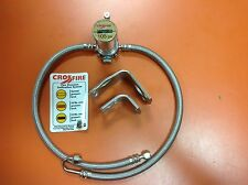 4 CROSSFIRE TIRE EQUALIZER SYSTEM 105 PSI STAINLESS STEEL HOSES