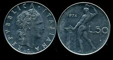 ITALIE   ITALY  50 lire 1974