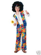 Hippie Boy Halloween Costume Child Size Medium (8-10)