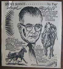 Hugh Andy Grant - Circa 1960 Pap' Sport Slants (Airman's Guide, Horse Racing)
