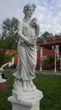 Gartenfigur, Steinguss, Frühling aus 4,Jahreszeiten, Menschen, 100 cm Gartendeko