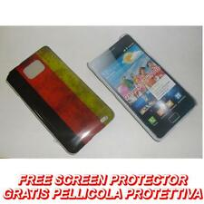 Pellicola+custodia BACK COVER FLAG GERMAN per Samsung I9100 Galaxy S2 plus I9105