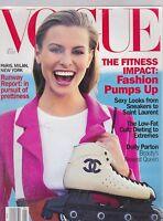 JAN 1994 VOGUE fashion magazine