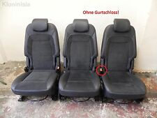 Ford S-Max Teilleder Sitze Sitz Ledersitz zweite Reihe drei Sitze Alcantara