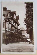 1940's Real Photo Street Scene Postcard - The Pantiles Tunbridge Wells Kent