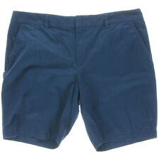 Tommy Hilfiger Shorts Chino Catalonia Blue Twill Khaki AU12 W30 US8 NEW Womens