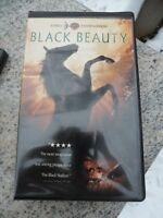 """VCR VHS Tape Family Entertainment Movie  """"Black Beauty"""" Clam Shell Warner Bros"""