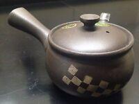 Japanese Tea Pot Tokoname-yaki Kyusu 400ml  (Brown) NEW