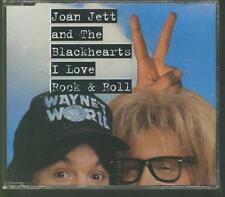 JOAN JETT AND THE BLACKHEARTS I Love Rock & Roll 1992 CD SINGLE WAYNE'S WORLD