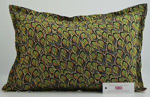 "Handmade African Feather Cushion Rectangle Inc Pad 14"" x 20"" (36cm x 51cm)"