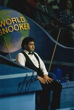 Joe Johnson mano firmado 12X8 Snooker Foto prueba 9.