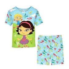 Little Einsteins Pajamas PJ June Annie Pat Rocket Top Shorts Set 2 2T Disney NEW