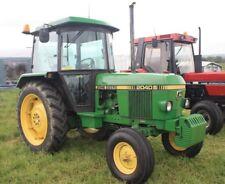 John Deere 1640 1840 2040 Tractor Reparación & taller Manual de servicio técnico.