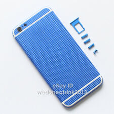 New Non-Slip Colorful Metal Back Rear Replace Battery Housing Cover For iPhone 6