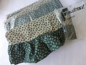 Fieldcrest FULL/DOUBLE SHEET SET Calico Floral Country Ruffles NIP VTG