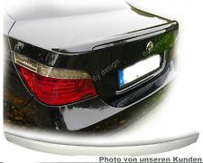 BMW E60 M5 Paquete Tapa del maletero Delantal NUEVO alerón trasero