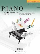 Piano Adventures Level 5 Theory Book  (1997, Paperback)