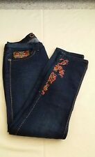 COOGI WOMENS JEANS WITH EMBROIDER DESIGNS SIZE 15/16
