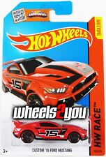 CUSTOM 15 FORD MUSTANG #154 red - 2015 Hot Wheels