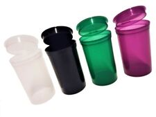 POP TOP SQUEEZE POTS CONTAINER SNAP TUBS STASH CAN JAR 6 13 19 DRAM STICKERS UK