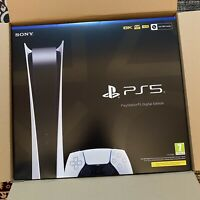 Sony PlayStation 5 Digital Edition No Disk (PS5)   *IN HAND* LIMITED