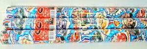 3 x Rolls Disney Cars Christmas Gift Wrap Each 3 Metres x 69 cm