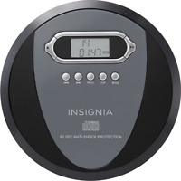 Insignia Portable CD Player with Skip Protection CD-R CD-RW