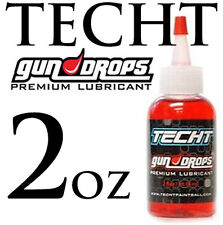 TECHT GUN DROPS PREMIUM LUBRICANT - 2oz - Paintball Gun Oil AND Grease