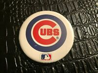 "VINTAGE PINBACK BUTTON #D3- 000 - 3""  BASEBALL - CHICAGO CUBS"